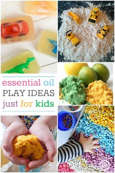 Bring essential oils into your child's life with these Essential Oil Play Ideas just for kids! Click now!