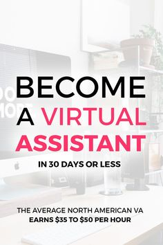 Do you want to start an online business and learn how you can make money from home as a virtual assistant? This is the exact course I took when I first started, and after taking action, I was able to make over $800 in my first month! With an increasing de