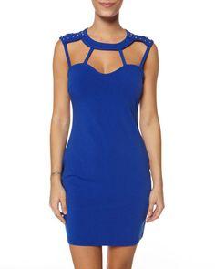 Remix dress in cobalt blue, AU$74.99 by Ladakh from Surfstitch, Australia.
