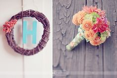 Wreath & Bouquet