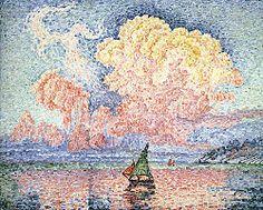 Paul Signac - The Pink Cloud, Antibes