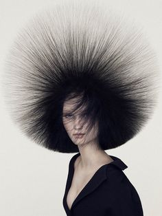 Angelo Seminara - British Hairdresser of the Year Collection 2016 - HJI Creative Hairstyles, Cool Hairstyles, Big Hair, Your Hair, Angelo Seminara, Tush Magazine, Magazine Covers, Avant Garde Hair, Editorial Hair