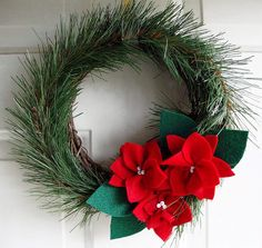 Christmas Wreath - different colors