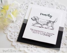*NEW Love Has Four Paws rainbow bridge cards and stamp sets
