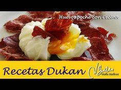 Huevos poché con cecina crujiente (Ataque)   Recetas Dukan Maria Martinez