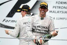 Lewis & Nico - Malaysian GP 2014