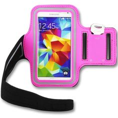 LilyStore Samsung Galaxy S3 SIII i9300 S4 Sweat-proof Neoprene Armband Case--Hot Pink. Samsung Galaxy S3 SIII i9300 S4 Sweat-proof Neoprene Armband Case--Hot Pink.