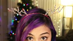 Today I show you how to make an inexpensive deer antler Headband! Originally I saw something similar at BCBG but it was too overpriced for me. Learn how to m...