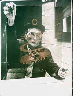 Marcel Duchamp (portrait) 1968  | Richard Hamilton 1922-2011