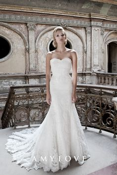 Suknia ślubna Jardin / Kolekcja Amy Love Bridal 2016