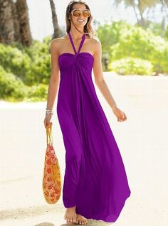 Victoria's Secret maxi summer dress in my fave color!