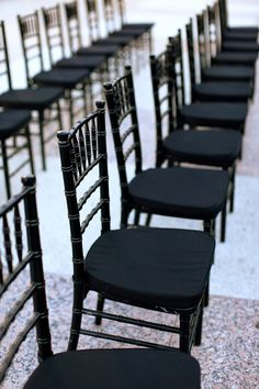 Black-Chivari-Chairs   photography by http://www.maryrosenbaum.com/