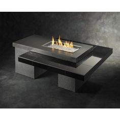 Uptown Fire Pit Table with 1224 Burner