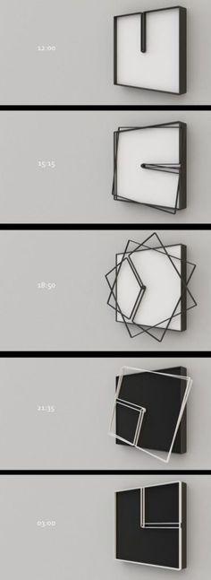 Un concept intéressant d'horloge • Perspectives