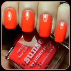 piCture pOlish Sunset - Swatches and Review | Pointless Cafe