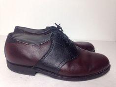 b4115da5f87bd FOOTJOY Classics Spikeless VIBRAM Gumlite Wingtip Oxford Dress Shoes sz  11.5  FootJoy Golf Outfit
