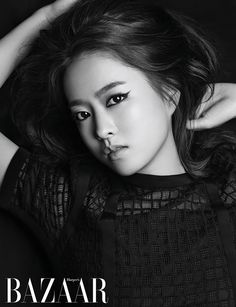Park Bo Young Is A Vixen In Harper's Bazaar Korea's June 2015 Issue   Couch Kimchi