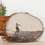 If simply framing your favorite photos doesn't quite do them justice, try transferring your best prints onto wood. This creative display will showcase your picture perfect moments in a manner that's worthy of their greatness.