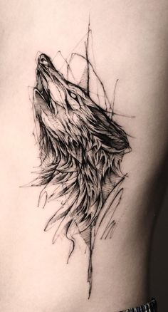 As 230 Melhores Tatuagens de lobo da internet [Femininas e Masculinas] | TopTatuagens Lion Head Tattoos, Fox Tattoo, Wolf Tattoos, Animal Tattoos, Body Art Tattoos, Wolf Tattoo Design, Tattoo Design Drawings, Tattoo Sketches, Tattoo Designs