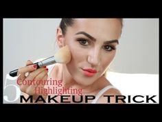 Ako vykonturovať tvár - úplne základy | PATTY IMAGE - YouTube