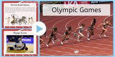 Olympics Information PowerPoint - Brazil, Rio 2016, , Modern, Ancient Greek, Olympic Rings, Olympic Torch