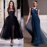 TULLE DRESSES FOR EVENING PARTIES!