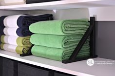 Linen Closet Shelf Dividers, use shelf supports held in place with Locktite to help organize your closets.  Search for your next home at http://www.prutexas.com