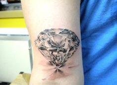 diamond tattoo - Buscar con Google