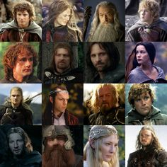 Lord of the Rings Collage