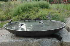 1200mm Swallow Birdbath Bowl