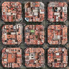 """the """"Eixample"""" district in Barcelona Spain from above. Photo: by hypebeast Hotel W, Ouvrages D'art, City Grid, Barcelona City, Barcelona Catalonia, Barcelona 2016, Urban Fabric, Foto Art, Birds Eye View"""