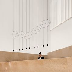 Vibia Wireflow Lineal 0325 LED Suspension lamp | AmbienteDirect