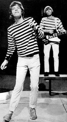 Famous stripes - Mick Jagger
