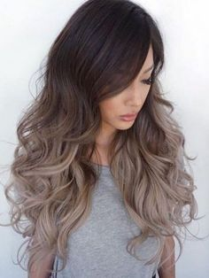 This dark brown ombre ash blonde long wavy lace front human hair wig is life. Shop the Black Friday deal today for 20% off. Use code: DLBF2016