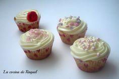 Cupcakes de arándanos