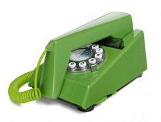 #retro #trimphone #green