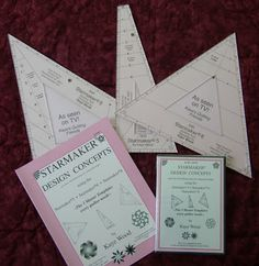Quilt Girl~More Quilt Rulers--Oh, My! Starmaker Rulers