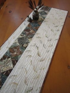 Modern Batik Table Runner