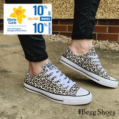 Converse Allstar Ox Leopard print Womens trainers are available in-store and online for Begg Shoes are official stockists of Converse trainers. Converse Trainers, Sneakers, Leopard Print Converse, Ladies Converse, Mini Me, Ox, Nurses, All Star, Pairs