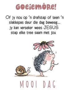 Goeie More, Daily Thoughts, Special Quotes, Afrikaans, Good Morning Quotes, Qoutes, Words, Mornings, Fancy