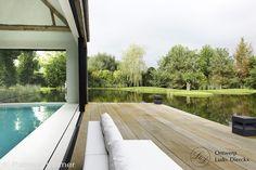 Glasshouse® met binnenzwembad en design tuinmeubilair, Ludo Dierckx tuindesign ontwerp | De Mooiste Veranda's