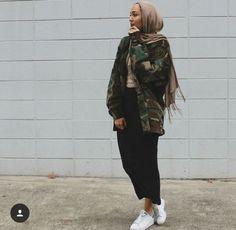 hijab, style, and fashion image
