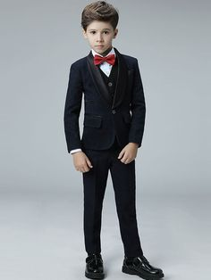 Toddler Vest, Toddler Boy Outfits, Kids Outfits, Boys Suit Sets, Boys Suits, Suit Fashion, Fashion 2018, Kids Wedding Suits, Party Wedding