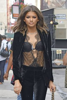 Zendaya at the Project Runway Fashion Show at NYFW in NYC 9/9/16