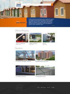 #website   Seu site com um layout exclusivo e conteúdo gerenciável. Confira as vantagens dessa tecnologia acessando: www.esgpropaganda.com.br  Cliente: http://www.janferconstrutora.com.br/