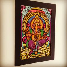 Ganesh....técnica mixta! Obra de mi wifey