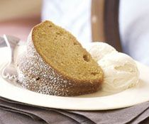 Pumpkin & Ginger Pound Cake