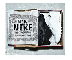 "Nike Air Max ""White & Black""."