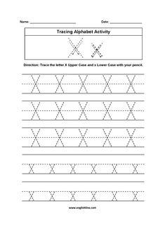 free printable tracing letter x worksheet tracing worksheets tracing letters printable. Black Bedroom Furniture Sets. Home Design Ideas