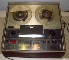 Vintage SONY TC366 TC 366 Reel To Reel Tape Player/Recorder w/Cover J391 | eBay
